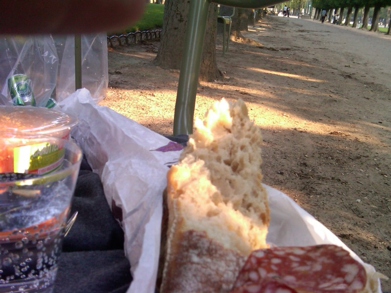 Picnic at Luxembourg
