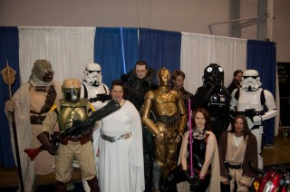 Star Wars Group Shot